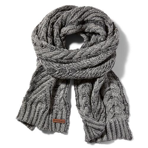 Women's Abington Cable-Knit Winter Scarf-