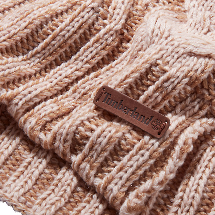 Women's Abington Cable-Knit Winter Scarf-