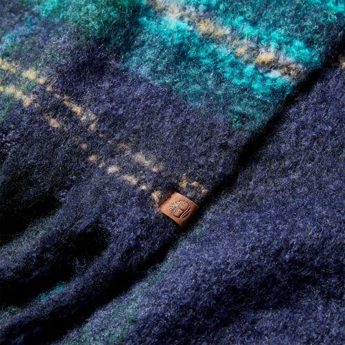 Women's Plaid Blanket Scarf-