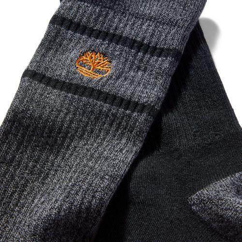 Men's 2-Pack Striped Boot Socks-