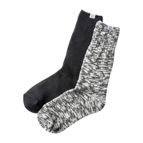 Women's 2-Pack Rag-Wool Boot Socks-