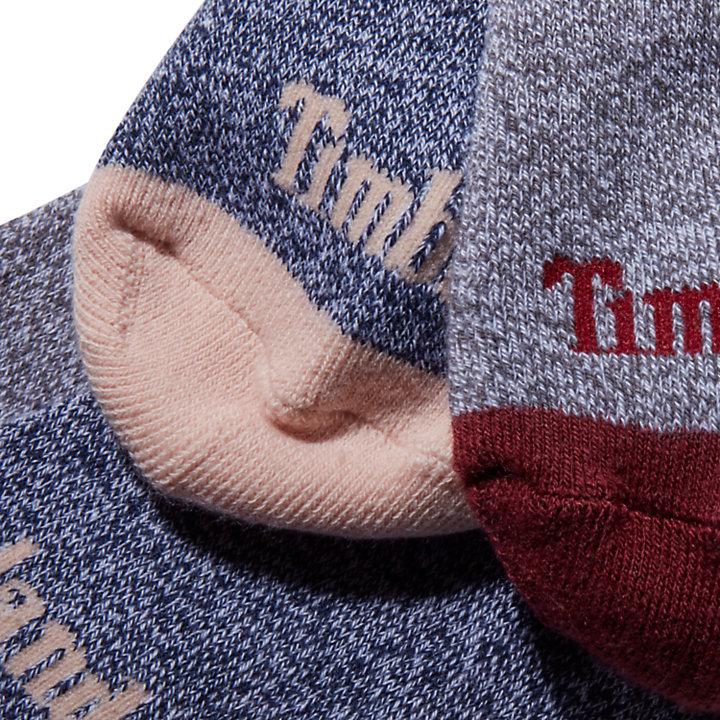 Women's 2-Pack Marled Ribbed Boot Socks-