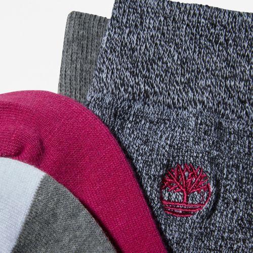 Women's 2-Pack Colorblocked Crew Socks-