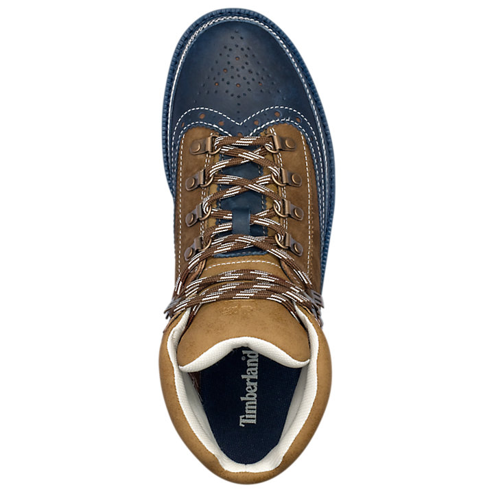 Men's Brogue Euro Hiker Boots-