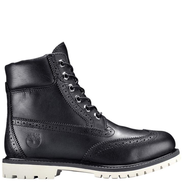 Women's 6-Inch Premium Brogue Waterproof Boots-