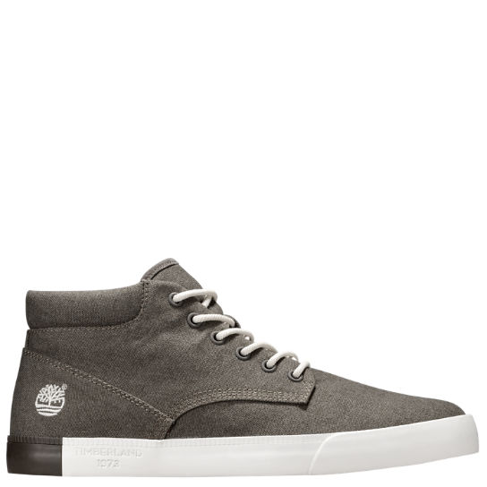 Men's Newport Bay Canvas Chukka Shoes