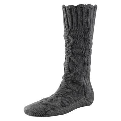 Women's Chunky Cable-Knit Socks