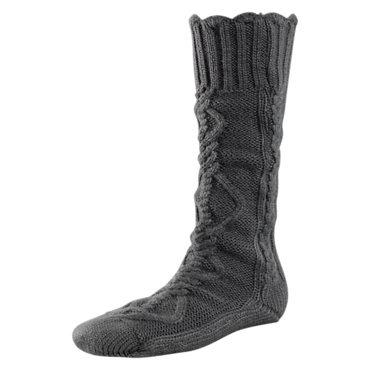 Women's Chunky Cable-Knit Socks-