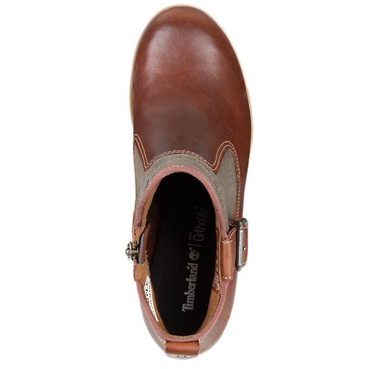 Women's Glancy Mixed-Media Side-Zip Boots-