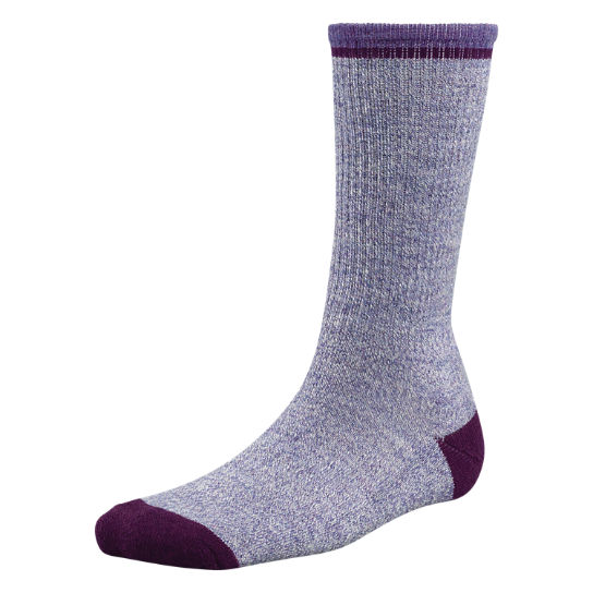 Women's Marled Pop Color Crew Socks