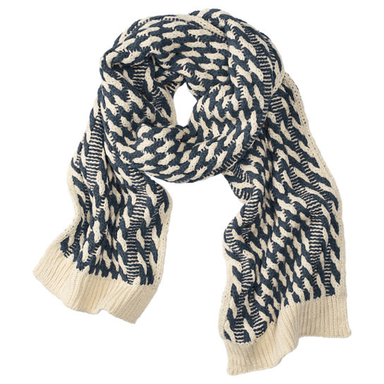 Women's Twist Knit Scarf
