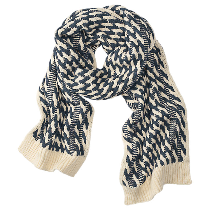 Women's Twist Knit Scarf-