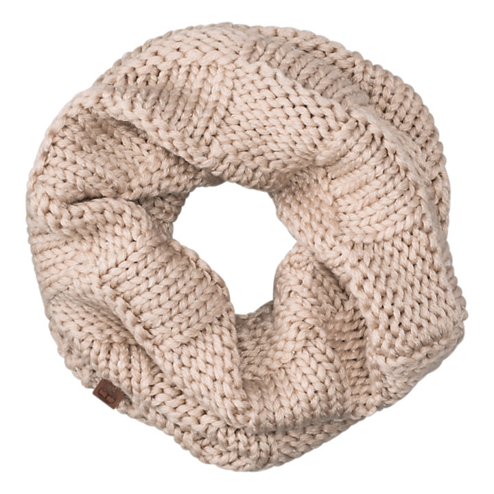 Basket-Weave Infinity Scarf-