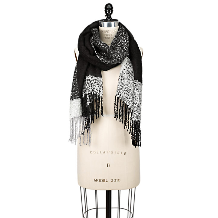 Color Block Winter Scarf-