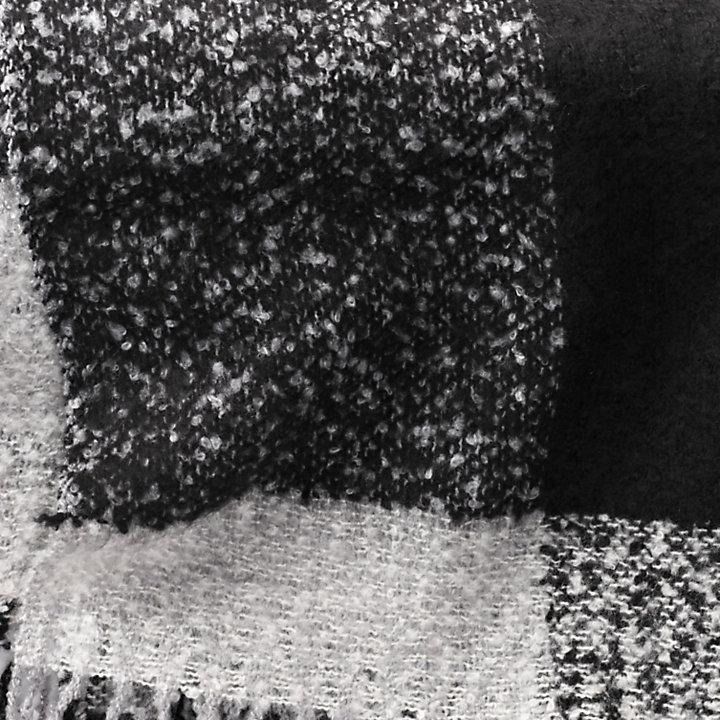 Color Block Winter Scarf-