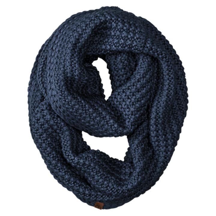 Knit Wool Infinity Scarf-