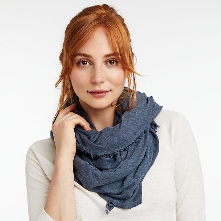 Lightweight Jersey-Knit Scarf-