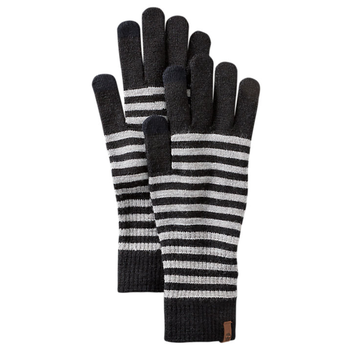 Women's Long Knit Touchscreen Gloves-