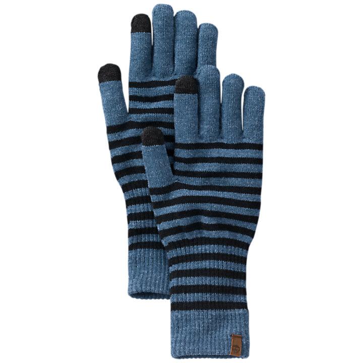 Women's Long Knit Touchscreen Gloves-