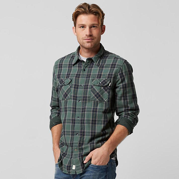 ccb6340fc18c Men's Double-Layer Organic Cotton Plaid Shirt | Timberland US Store