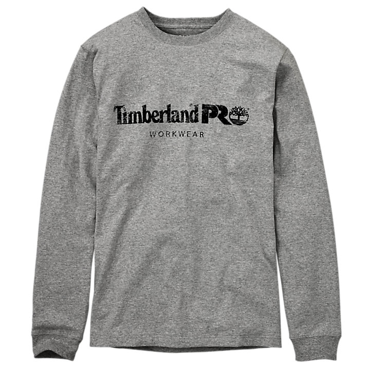 Men's Timberland PRO® Cotton Core Long Sleeve T-Shirt-