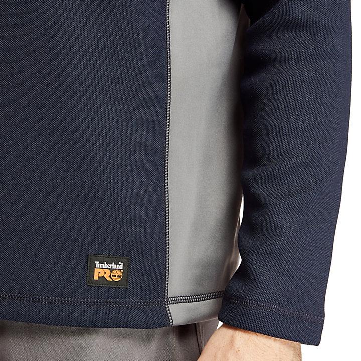 Men's Timberland PRO® Studwall Quarter-Zip Textured Fleece Shirt-