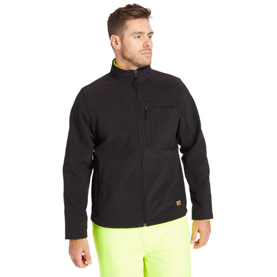 Men's Timberland PRO® Power Zip Windproof Softshell Jacket