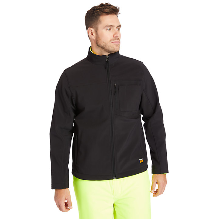 Men's Timberland PRO® Power Zip Windproof Softshell Jacket-