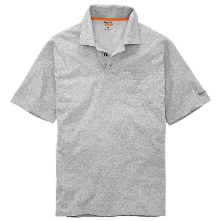 Men's Timberland PRO® Short Sleeve Base Plate Wicking  Polo Shirt-