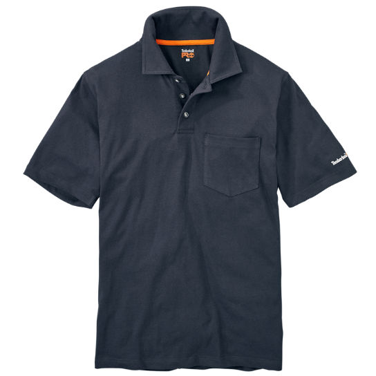 Men's Timberland PRO® Short Sleeve Base Plate Wicking  Polo Shirt