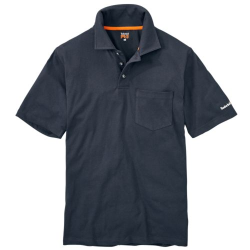 Men's Timberland PRO® Short Sleeve Base Plate Wicking  Polo Shirt-