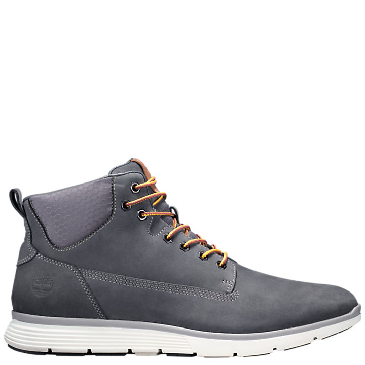NEW MENS TIMBERLAND GRAY KILLINGTON CHUKKA NUBUCK BOOTS