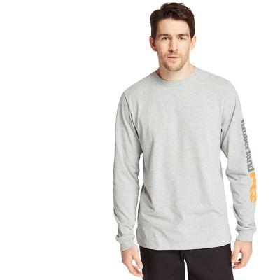 Men's Timberland PRO® Logo Sleeve Base Plate Wicking