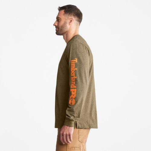Men's Timberland PRO® Base Plate Long-Sleeve Logo T-Shirt-