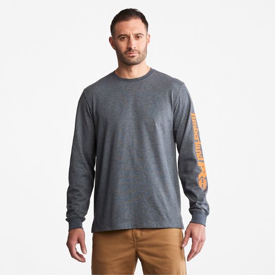 Men's Timberland PRO® Base Plate Long-Sleeve Logo T-Shirt