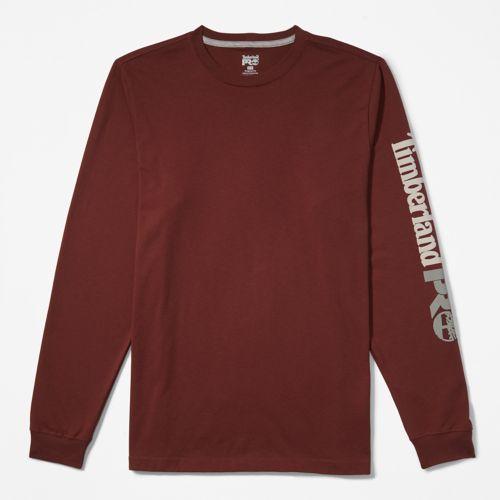 Men's Timberland PRO® Logo Sleeve Base Plate Wicking T-Shirt-