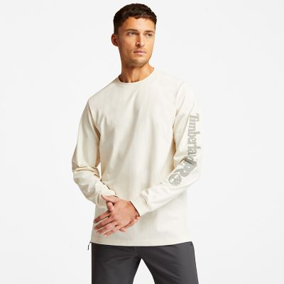 Men's Timberland PRO® Base Plate Long-Sleeve Wicking T-Shirt