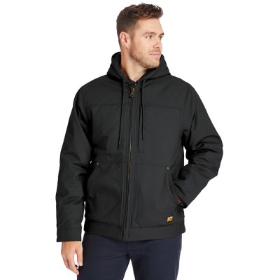 Men's Timberland PRO® Baluster Hooded Insulated Canvas Work