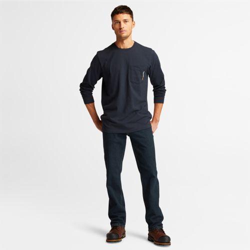 Men's Timberland PRO® Long Sleeve Base Plate Wicking T-Shirt-