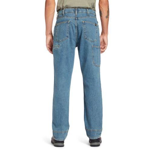 Men's Timberland PRO® Grit-N-Grind Flex Denim Work Jeans-