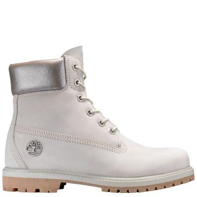 Women S 6 Inch Premium Metallic Collar Waterproof Boots