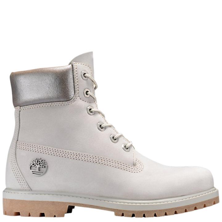 ba57314972d87 Women's 6-Inch Premium Metallic Collar Waterproof Boots | Timberland ...