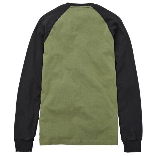 Men's Timberland PRO® Cotton Core Long Sleeve Henley Shirt-