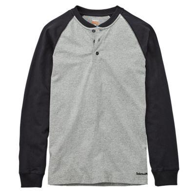 Men's Timberland PRO® Cotton Core Long Sleeve Henley
