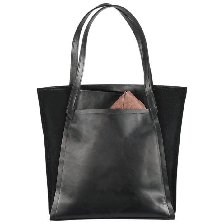 Keyes Mixed-Media Tote Bag-