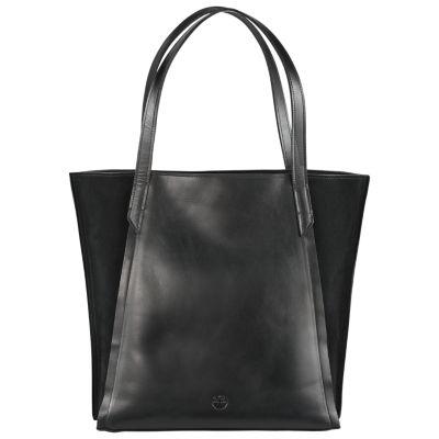 Keyes Mixed-Media Tote Bag