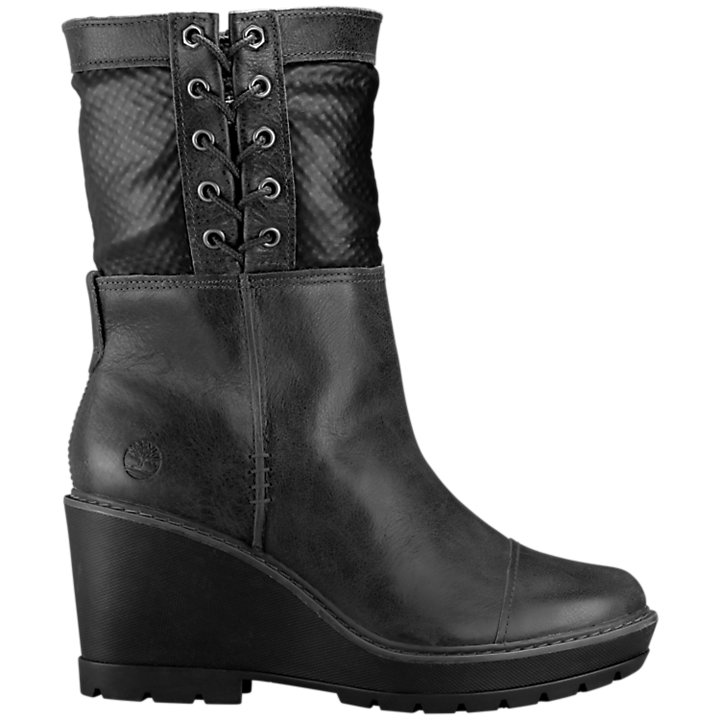 Women's Kellis Wedge Fold-Down Boots-