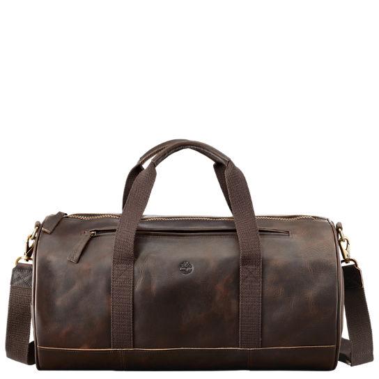07e40ea2a0a Timberland   Men s Tuckerman Leather Duffle Bag