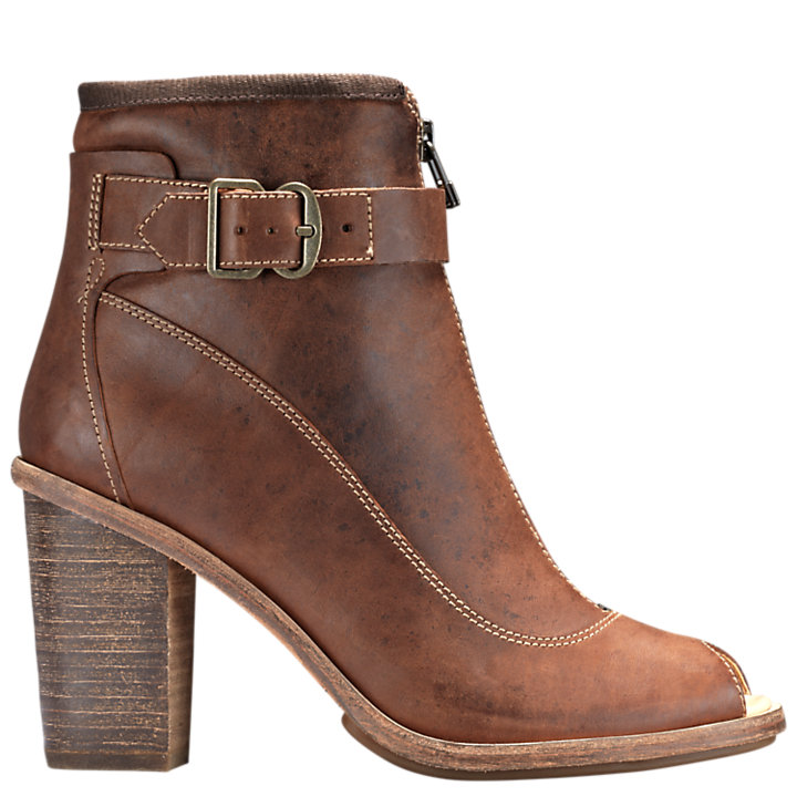 Women's Timberland Boot Company® Marge Buckle Peep-Toe Boots-