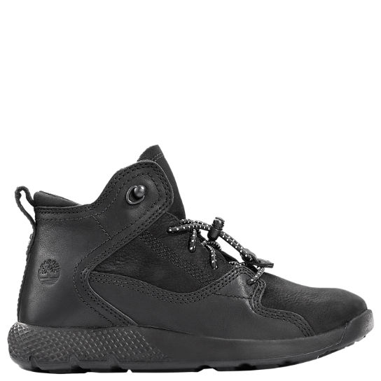 Youth FlyRoam Leather Hiker Boots